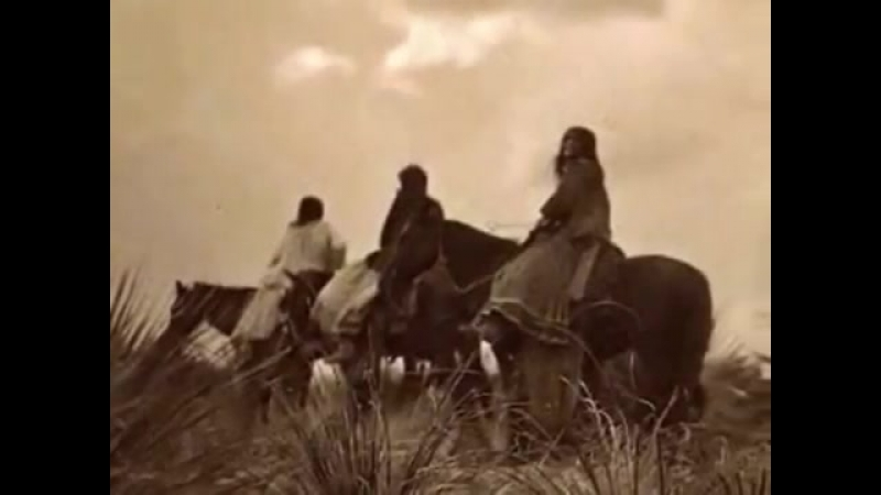Native American On Horse Back All Tribes