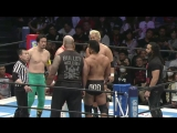 Bad Luck Fale, Tama Tonga, Tanga Loa (c) vs. Michael Elgin, Ryusuke Taguchi, Togi Makabe (NJPW - Sakura Genesis 2018)