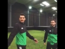 And what if I challenged the portuguese model Ruben Rua to a footvolley game @adidasfootball HereToCreate NEMEZIZ E se