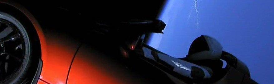 «Тесла» в космосе: видео полета и реакция соцсетей