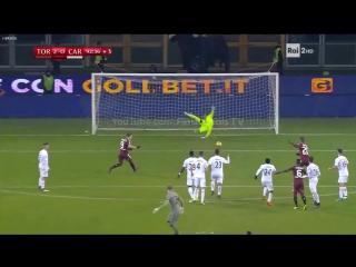 Вратарь «Торино» прибежал бить штрафной и чуть не сломал перекладину