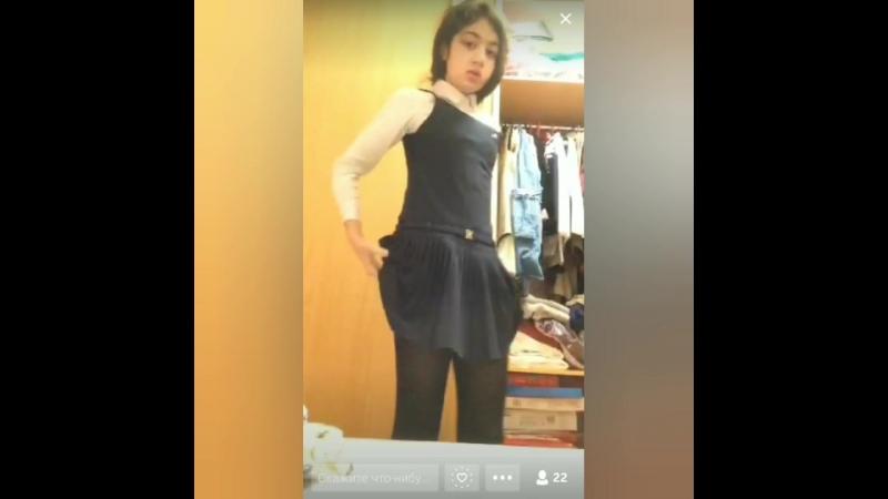 Симпатичная юная девочка показывает свое нежное тело Periscope перископ ЦП Скайп новое малолетки голая Skype bigo live online