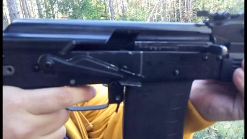 Сайга 410К-01, слоу мо, косячные барнаульские патроны