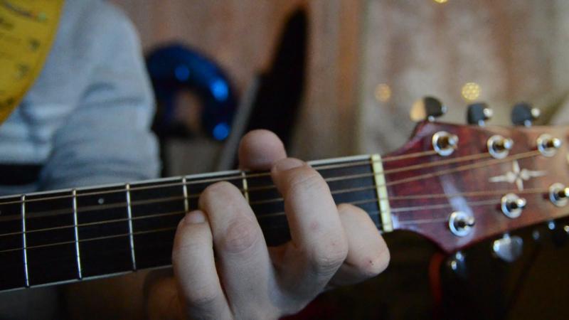Если вдруг умолкну партия гитары