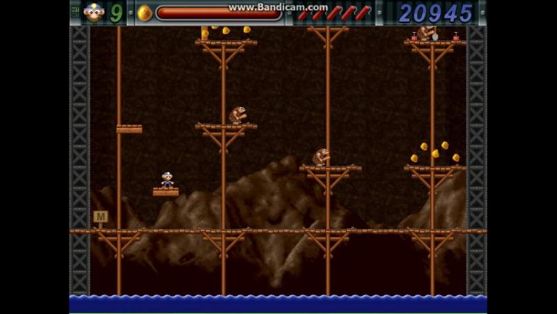 Прохождение игры gold miner Joe. Коричневая шахта (часть 2).