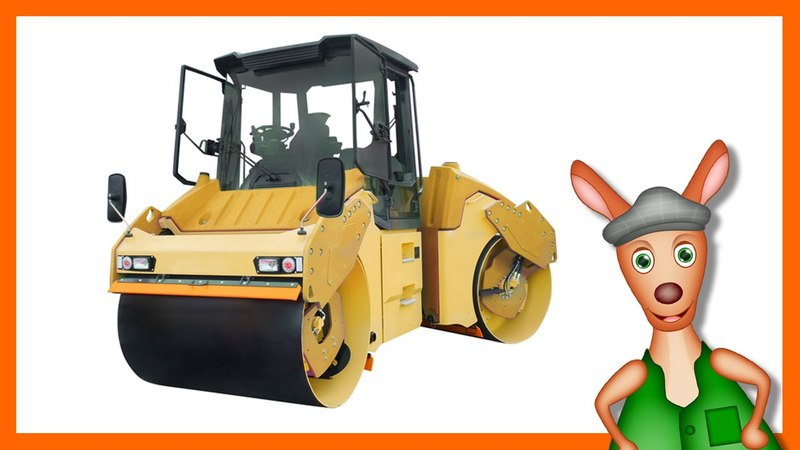 ROAD SURFACING MACHINES Machine videos for kids| children| toddlers. Kindergarten learning.