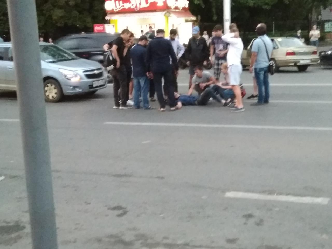 Возле парка Якутова в Уфе водитель Chevrolet переехал велосипедиста