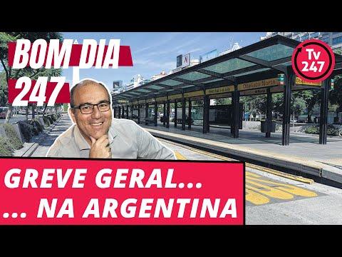 Bom dia 247 (25/6/18) – Argentina aponta o caminho: greve geral