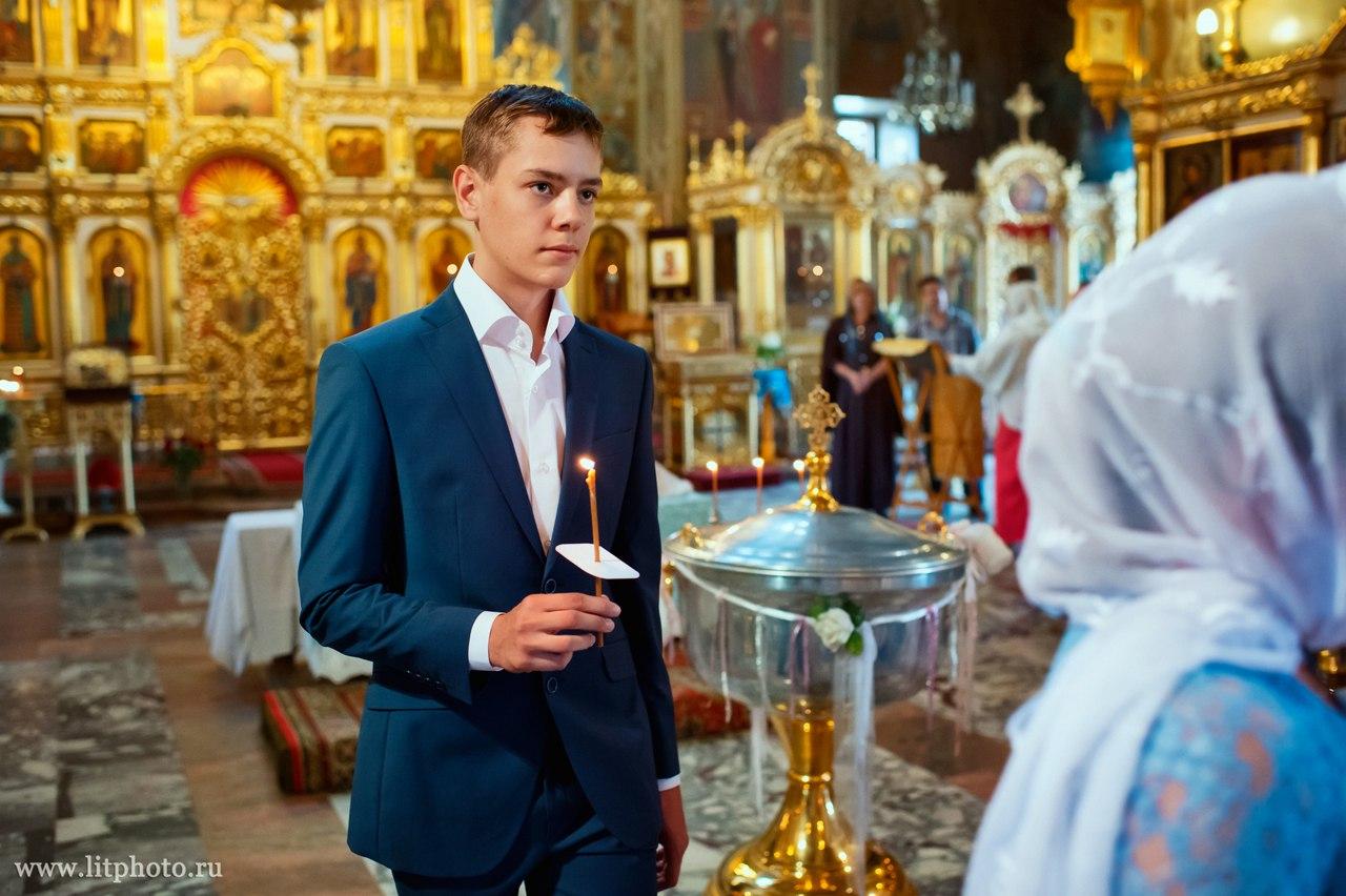 праздничное крещение
