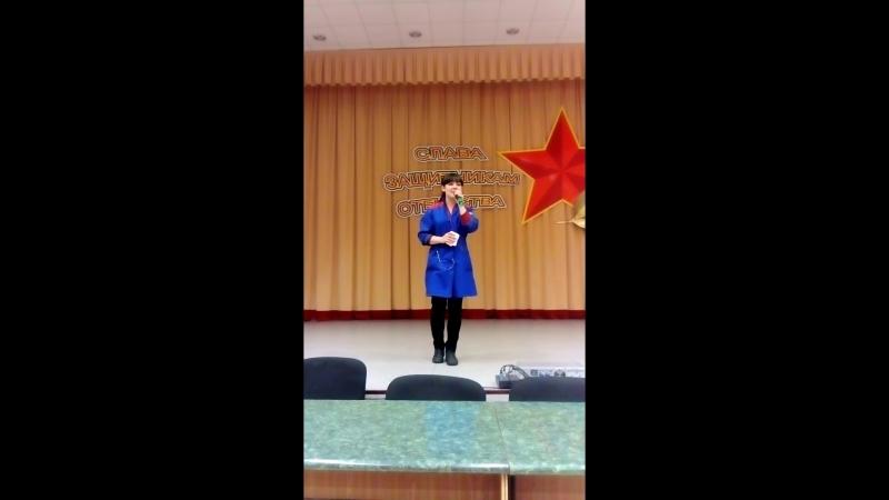 Репетиция на песню ачы балан