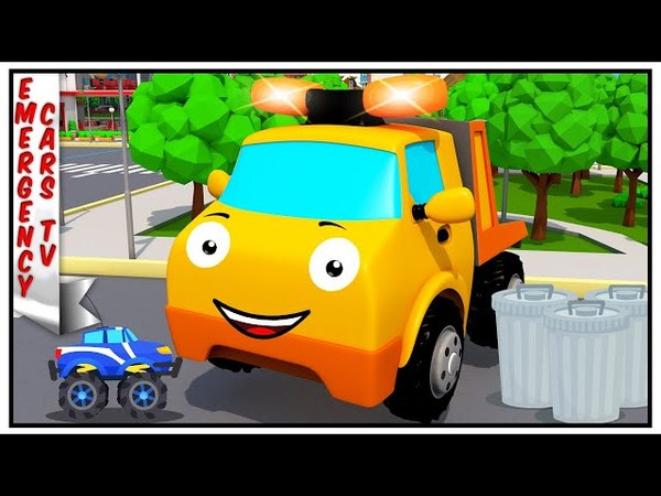 Tow Truck with Toy Monster Truck Compilation | Emergency Vehicles Cartoon for children