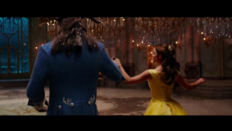 Beauty and the Beast movie- Ballroom Dance Scene (Tale As Old As Time)
