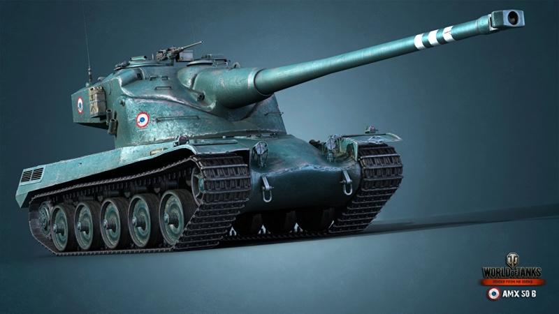 AMX 50B a lot of damage World of Tanks