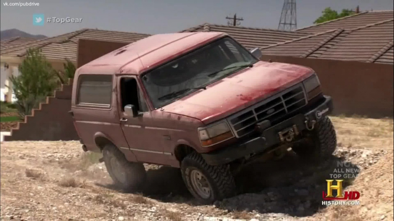Top Gear Америка. Сезон 2 серия 4. Долина Смерти