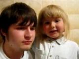 Брат и сестра читают реп Очень прикольные))