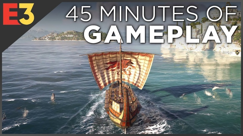 Assassin's Creed Odyssey 4K GAMEPLAY! Naval Combat, Dialogue Choices Multiple Characters!