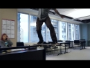 Skateboarders take over a Chicago office space - Red Bull Daily Grind