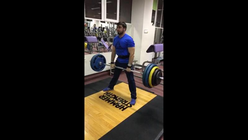 Фазлиддин, становая сумо 160 кг
