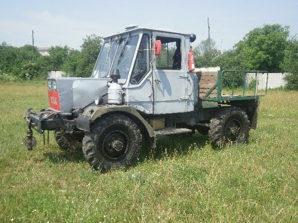 Самодельный трактор мини Т 150 Козак Леонид Гонтарь