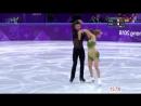 Габриэла Пападакис Gabriella Papadakis засветила грудь на Олимпийских играх 2018