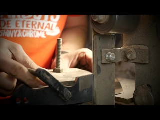 Trollsky - Making a damascus EDC knife