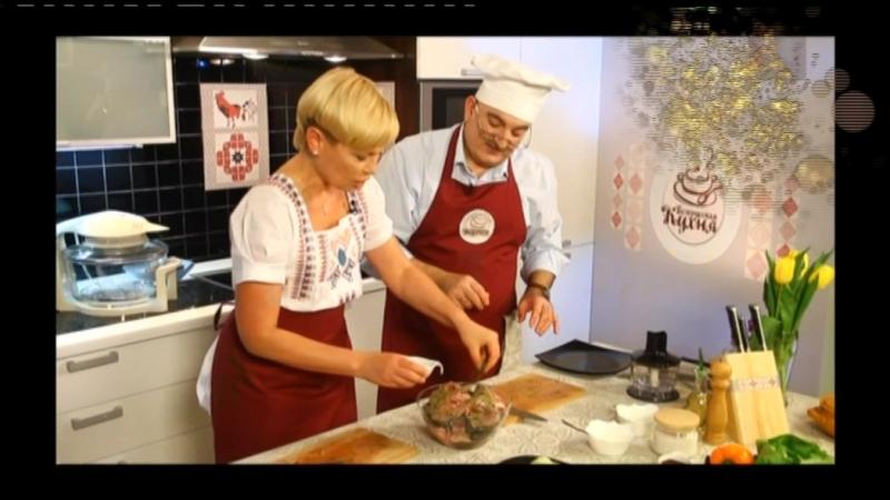 34 Беларуская кухня. Печаная рыба.