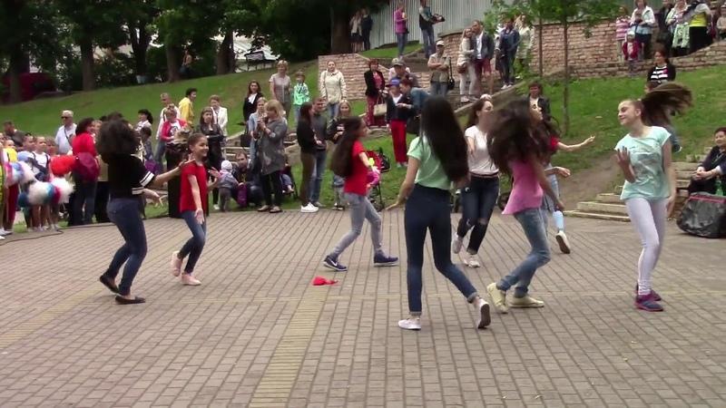 Выступления на День России в Детском парке