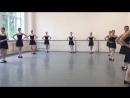 Народно-сценический танец,зачёт2семестр- 1,2год обучения в уч. ,поклон,plie
