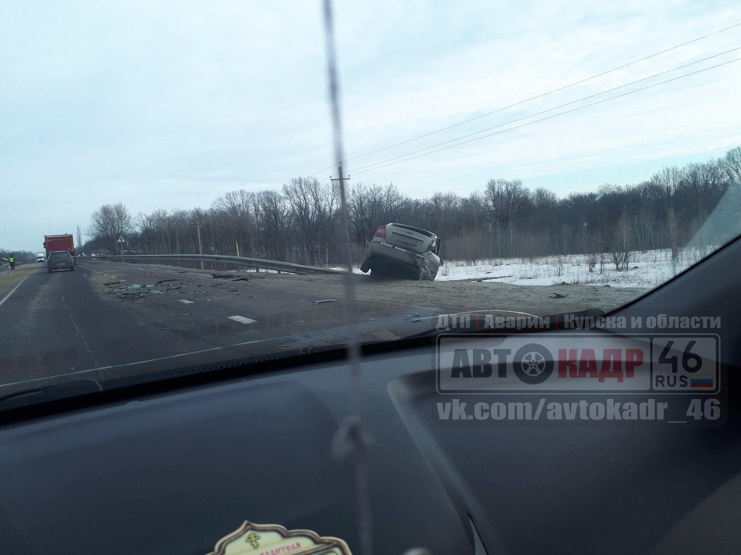 Два человека пострадали в ДТП под Курском