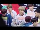 180115 TOPSECRET и MXM на Idol Star Athletics Championships 2018 ISAC [УONGHYEON focus]