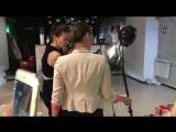 Бекстейдж. Новогодняя фотосессия. Мини - мисс Ягода Малина. Клевая фотосессия с Татьяной Сенчило в платьях от Алисы Морозовой #м