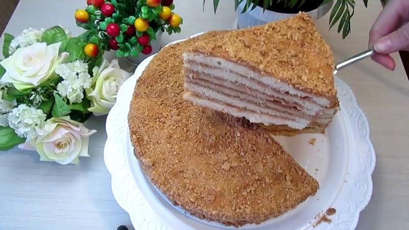Торт Медовик как в детстве Cake Honey