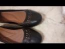 Кожаные туфли/балетки
