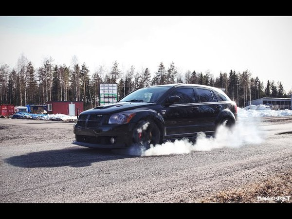 Dodge Caliber SRT4 Mopar racing in Oulu Finland 200 km h