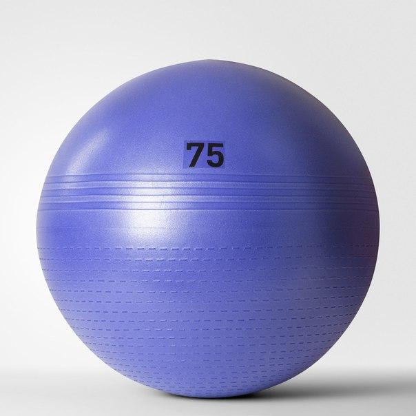 Гимнастический мяч Flash Purple (75 см)