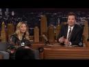 Watch Chloe Kim and Jimmy Fallon Photo-Bomb Olympics Fans on Shortened 'Tonight Show'