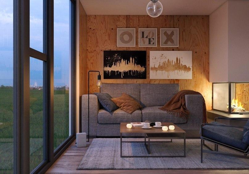 Проект маленького дачного домика