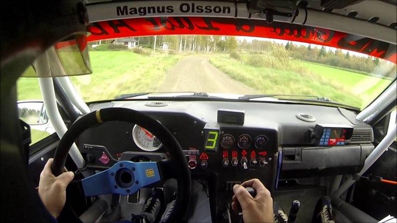 Stålsvängen 2016 SS1 Magnus Olsson Volvo 740 GrpH