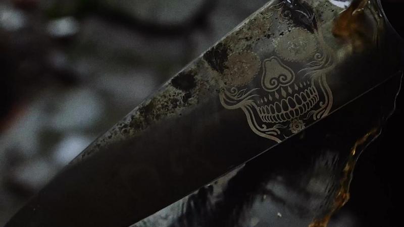 Нож CoolToolme CTm Gyuto (Scull) 240мм
