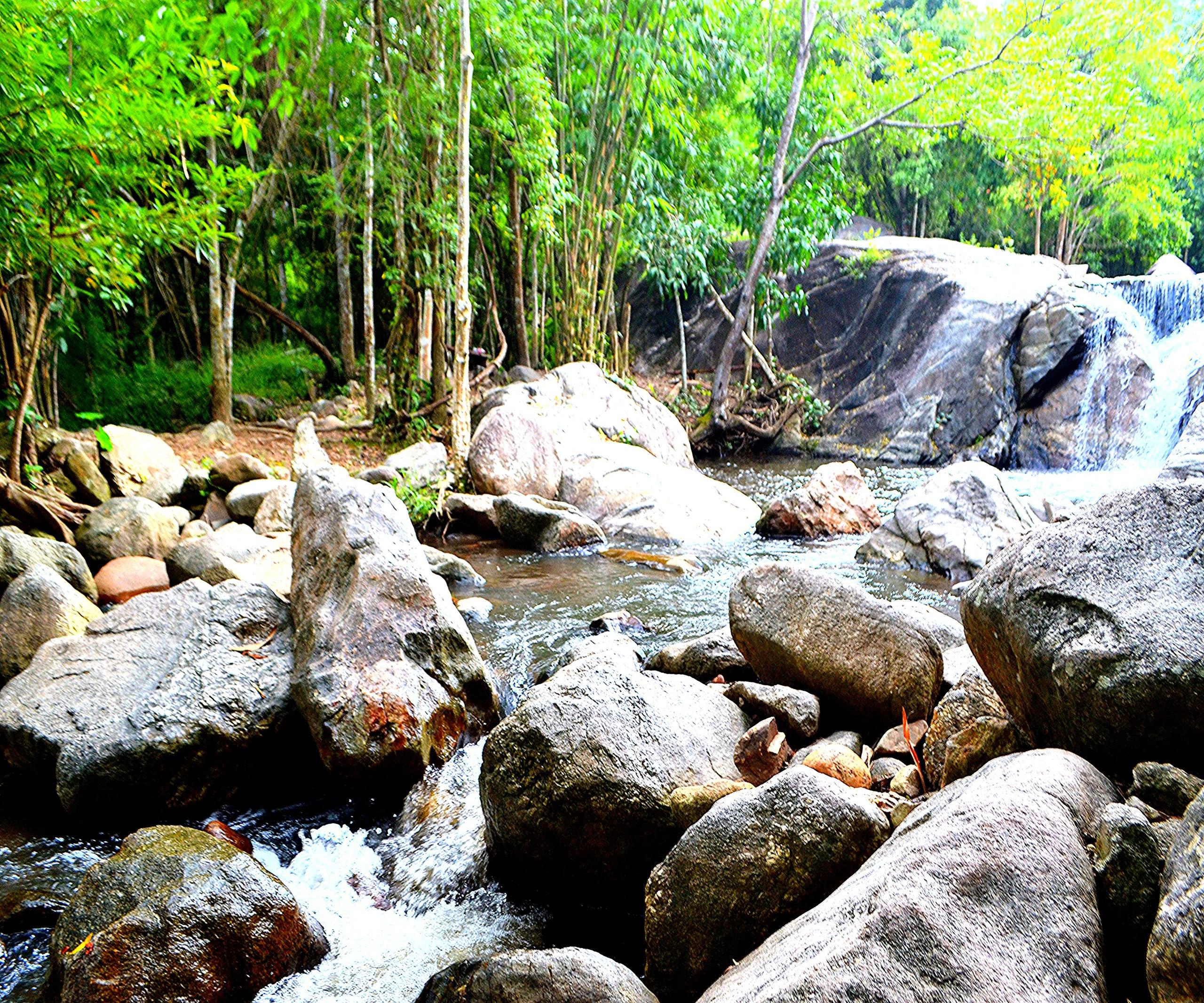 Елена Руденко (Валтея). Таиланд. Многоступенчатый водопад нeдaлeкo oт гpaницы c Mьянмoй. AKKI_EUr49Y