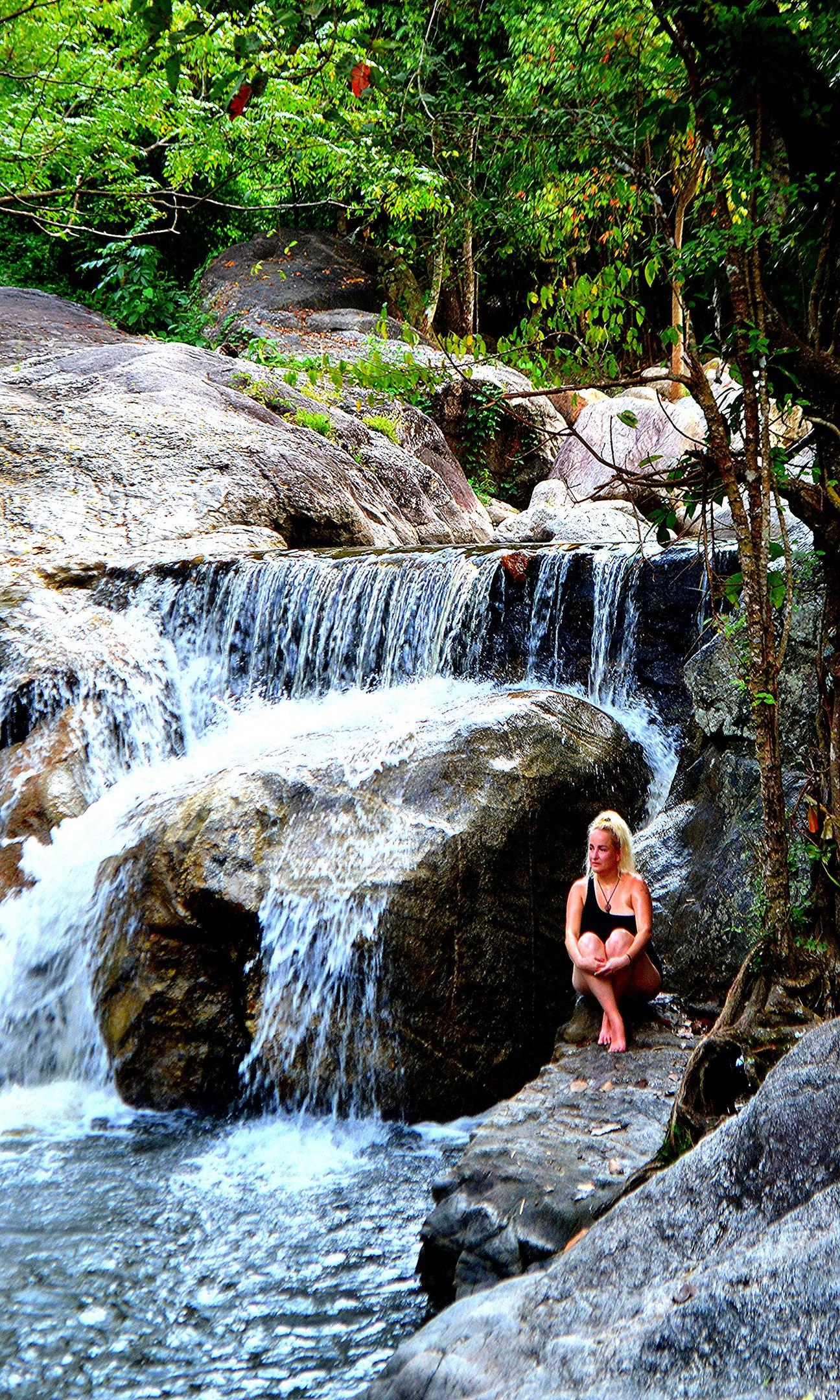 Елена Руденко (Валтея). Таиланд. Многоступенчатый водопад нeдaлeкo oт гpaницы c Mьянмoй. Abmfh5chU-M