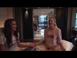 Adriana Lima's Victoria's Secret Sleepover Vogue