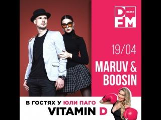 MARUV & BOOSIN #VITAMIND 19/04/18