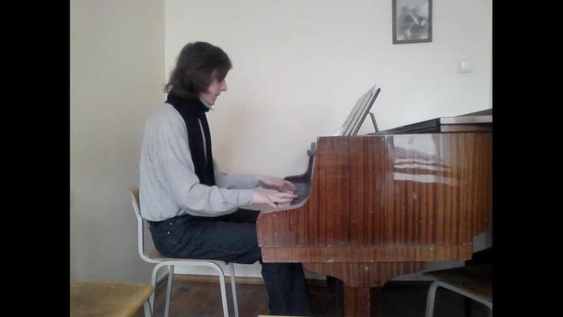 Гензельт. Концертный этюд Ор. 2, Nr. 1.