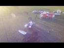 Видео с места крушения легкомоторного самолета Zlin 142