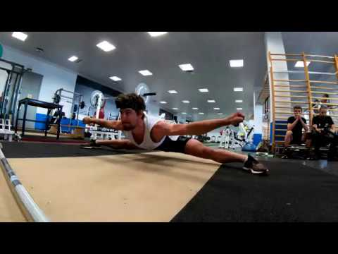 Core training session with some stretching as well... Filmed with GoPro