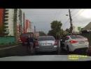 Драка водителей прямо на дороге, на улице Киренского