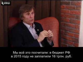 Двойная бухгалтерия кремля - треть для бюджета, две трети в офшоры