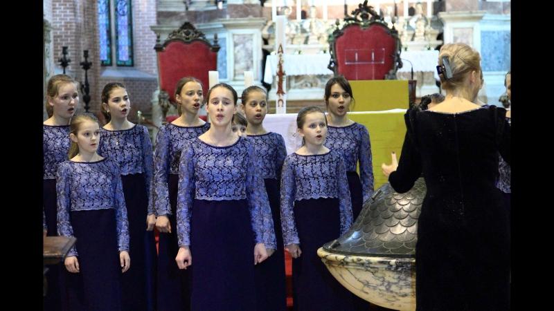 ХОР АЛЫЕ ПАРУСА КАФЕДРАЛЬНЫЙ СОБОР ВЕНЕЦИЯ-2012