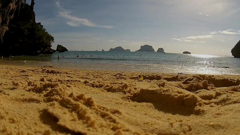 Пляж Прананг провинции Краби.Тайланд
